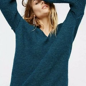 Free People All Mine Slouchy Oversized  Sweater